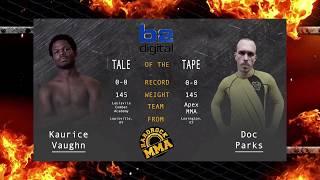 Hardrock MMA 96 Fight 9 Kaurice Vaughn vs Doc Parks 145 Ammy
