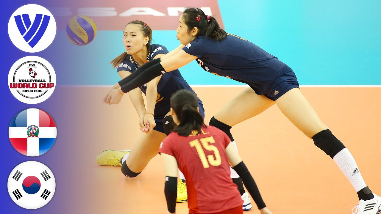Dominican Republic vs. China - Full Match | Women's Volleyball World Cup 2015