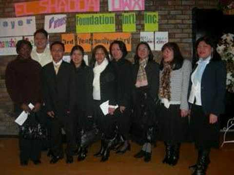 "El Shaddai Gloucestershire  UK""Touch the Philippines"""