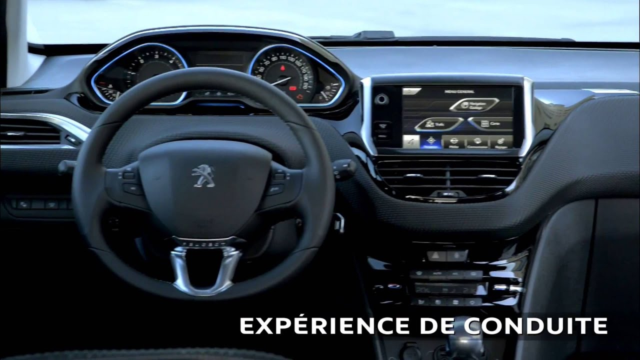 Pr sentation peugeot 2008 les points forts www for Interieur peugeot 2008