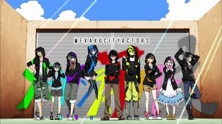 Mekaku City Actors - Reseña (4 episodios)