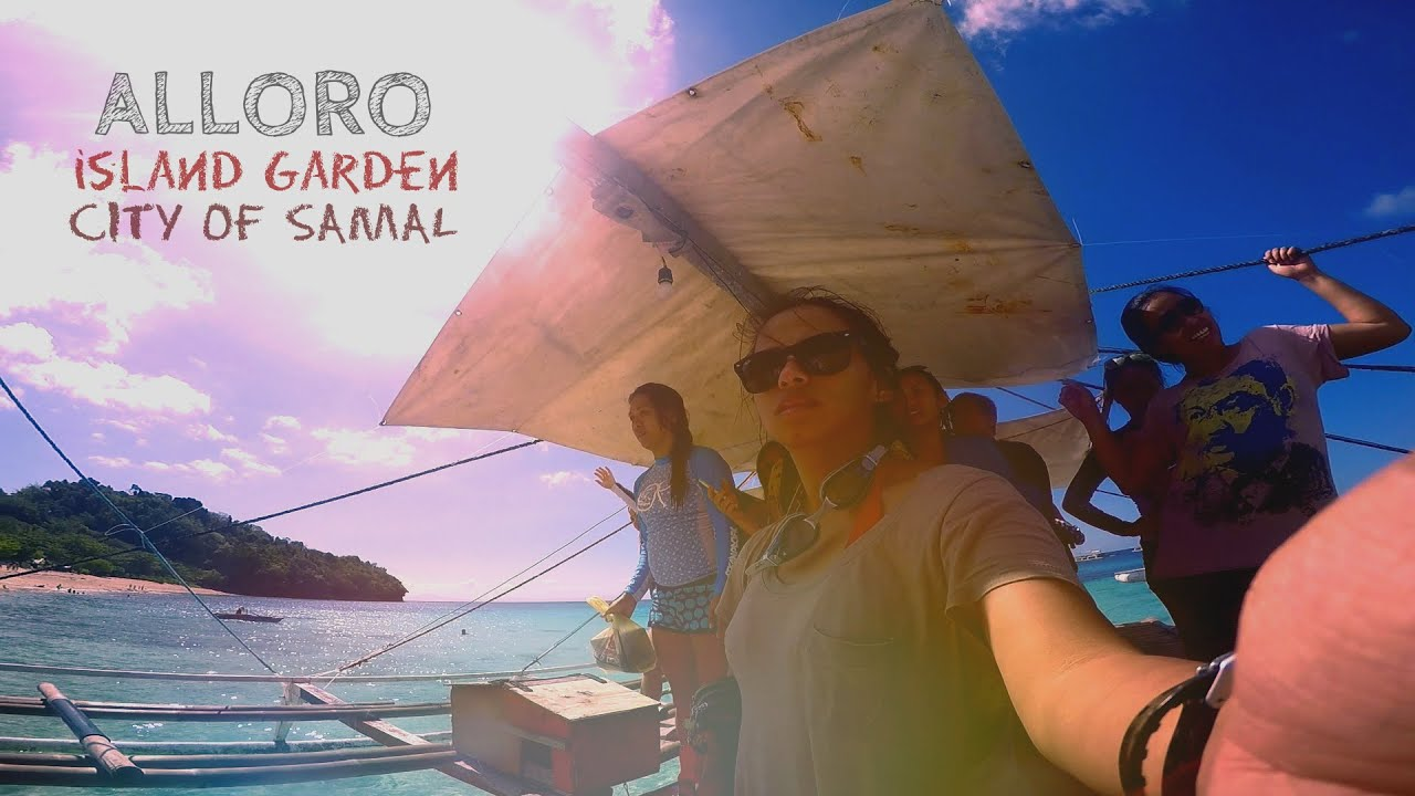 Alloro Beach, Island Garden City of Samal [HD] - YouTube
