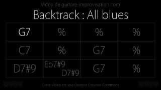 All blues (150bpm) : Backing track