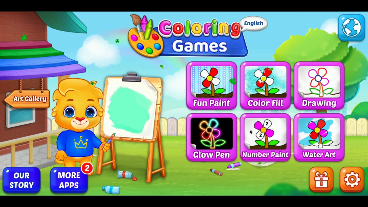 - COOL COLORING GAME 3 FOR KIDS ABCD LEARNING BY CHAMPU TV POEMS