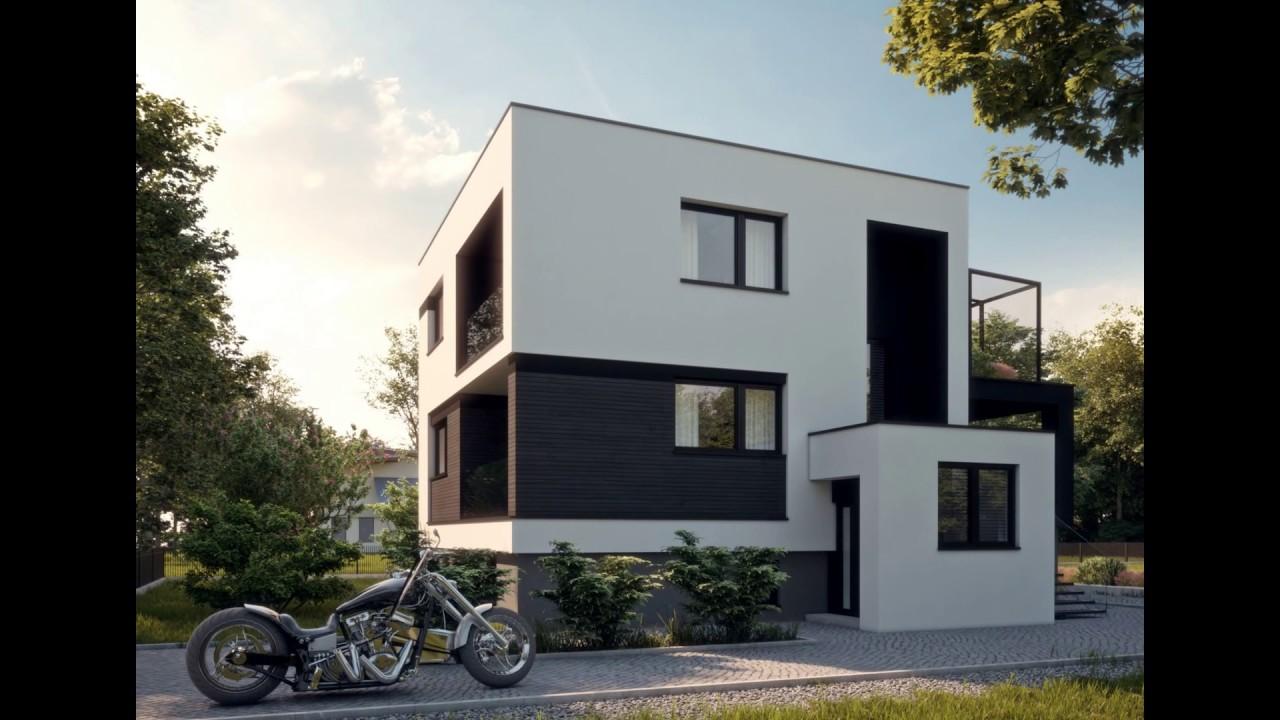 Projekt Modernizacji Elewacji Domu Jednorodzinnego Youtube