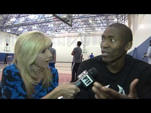 Maria Serrao goes one on one with Los Angeles Clipper Jamal Crawford