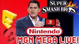 MGN Mega Live: Huge Nintendo E3 Games Leak- Kingdom Hearts 3- Black Ops 4 Switch & More   Game Night