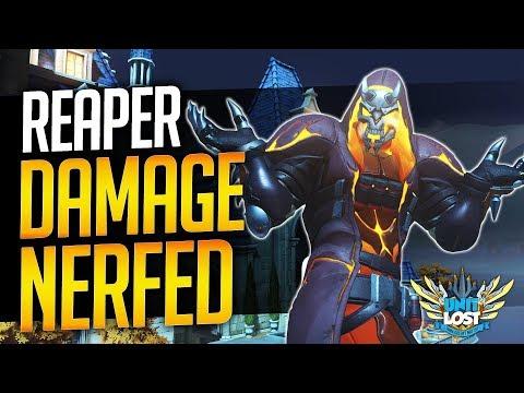 Overwatch - Reaper Damage NERF on PTR (Broken or Intentional?) thumbnail