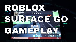 Roblox on the 2018 Surface Go 8gb