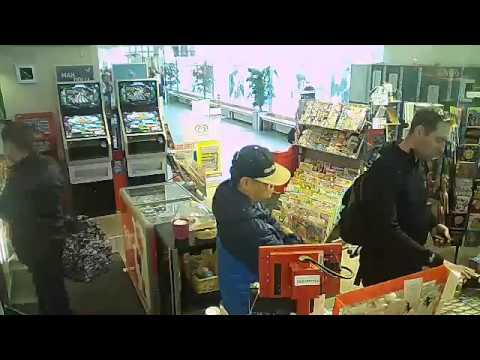 Smile you're on camera (Thief in Helsinki at Check in Shop)