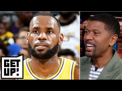 Jalen: LeBron will elevate Lakers; Warriors and Rockets to meet in West finals | Get Up!