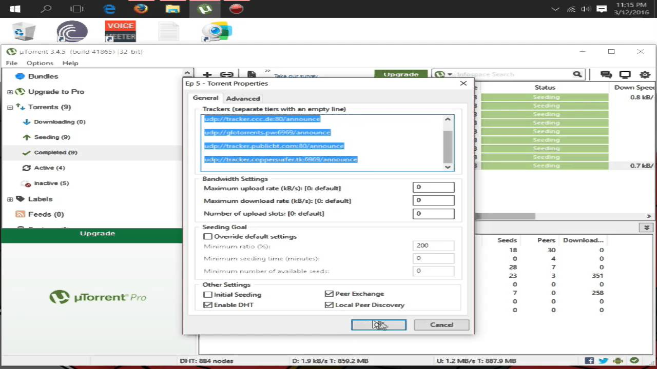 Utorrent Seeding Issues With Red or Brown Bar Fix