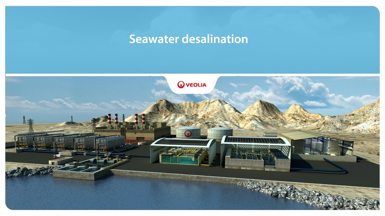 Seawater desalination Veolia
