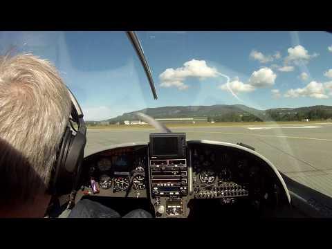 Lancair flight to Kristiansund