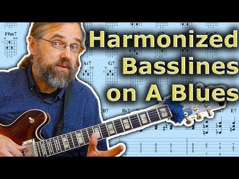 How To Play A Harmonized Bass Line On A Blues