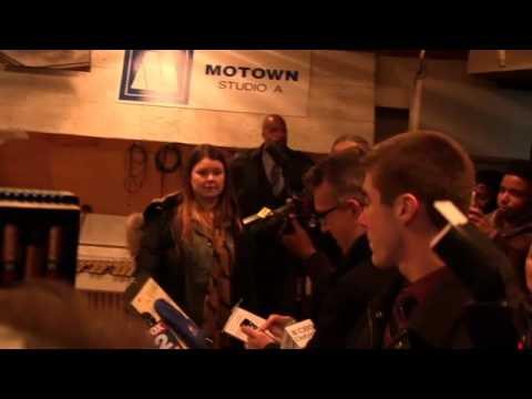 Chris Rock Visits The Motown Museum On 'Top 5' Movie Tour