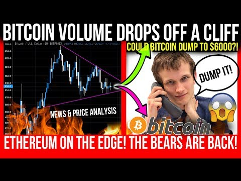 BITCOIN DUMP TO $6K!? Ethereum Dump BELOW $200!? WATCHOUT FOR THIS KEY INDICATOR! ETH & Bitcoin TA