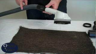 How To Use A Kirby Vacuum Zipp Brush Attachment Sentria Zip