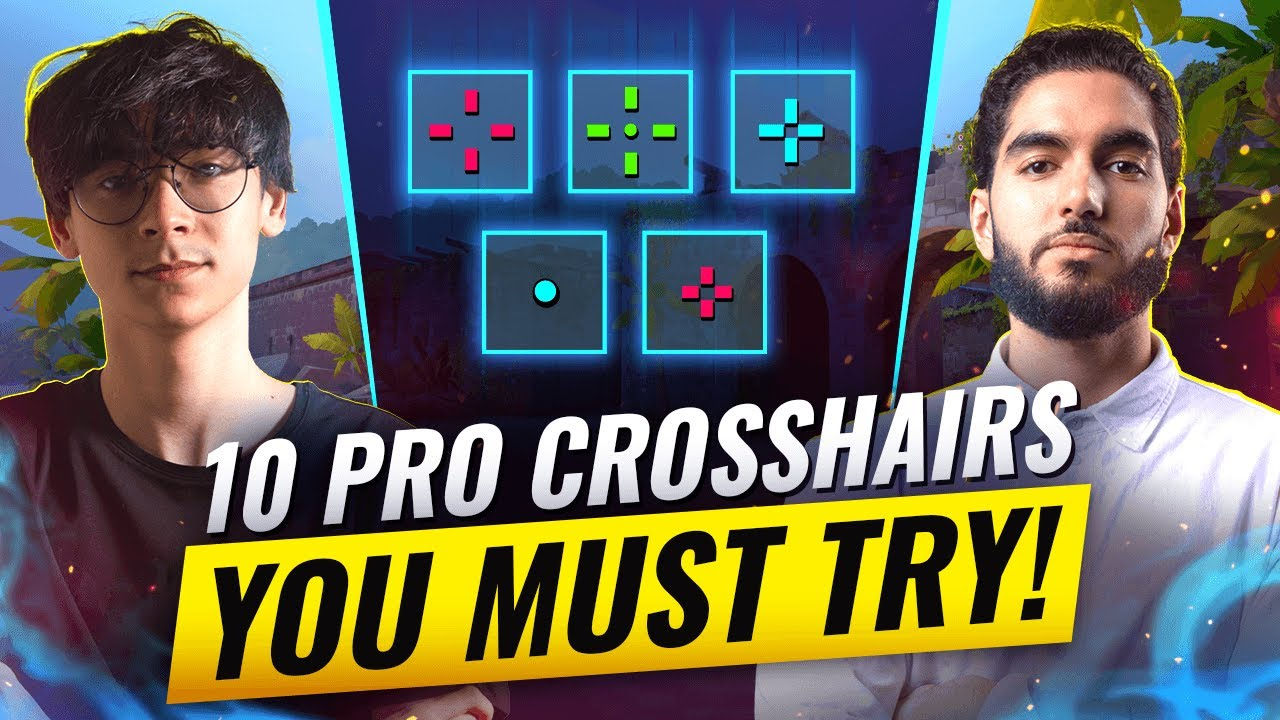 Download Want INSANE AIM? Try These 10 PRO Crosshairs! - Valorant