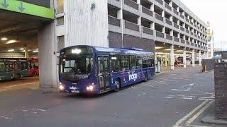 Broadmarsh Bus Station Nottingham