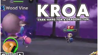 SUMMONERS WAR : Kroa the Dark Harg - ToA & Dragons B9 Fun