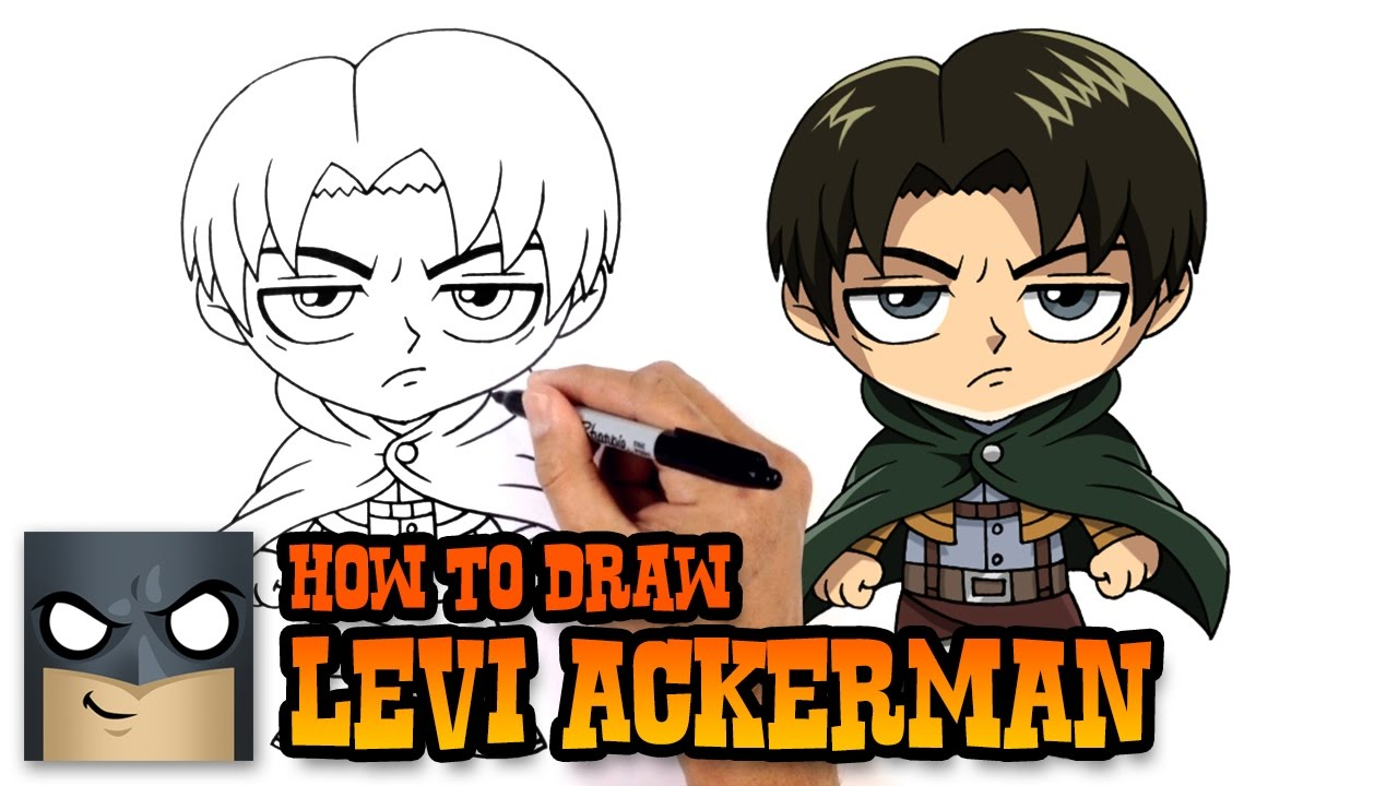 How To Draw Levi Ackerman Attack On Titan