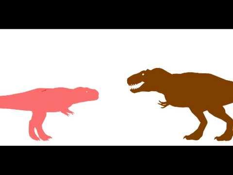 pckg-alioramus vs tyrannosaurus (round 1 match 6)