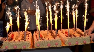 Un Joyeux anniversaire a notre ami Daniel Chabot au Pa'so Grill Resimi