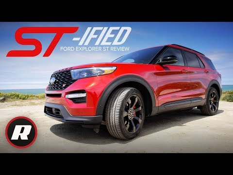 2020 Ford Explorer ST Review: Haul more than just your family