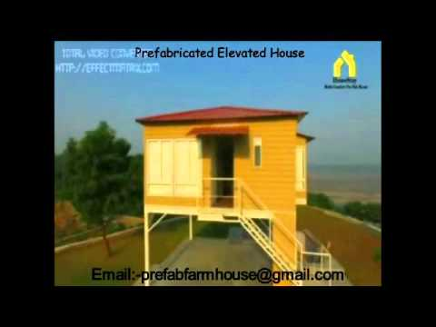 Pre Fab Elevated House In India