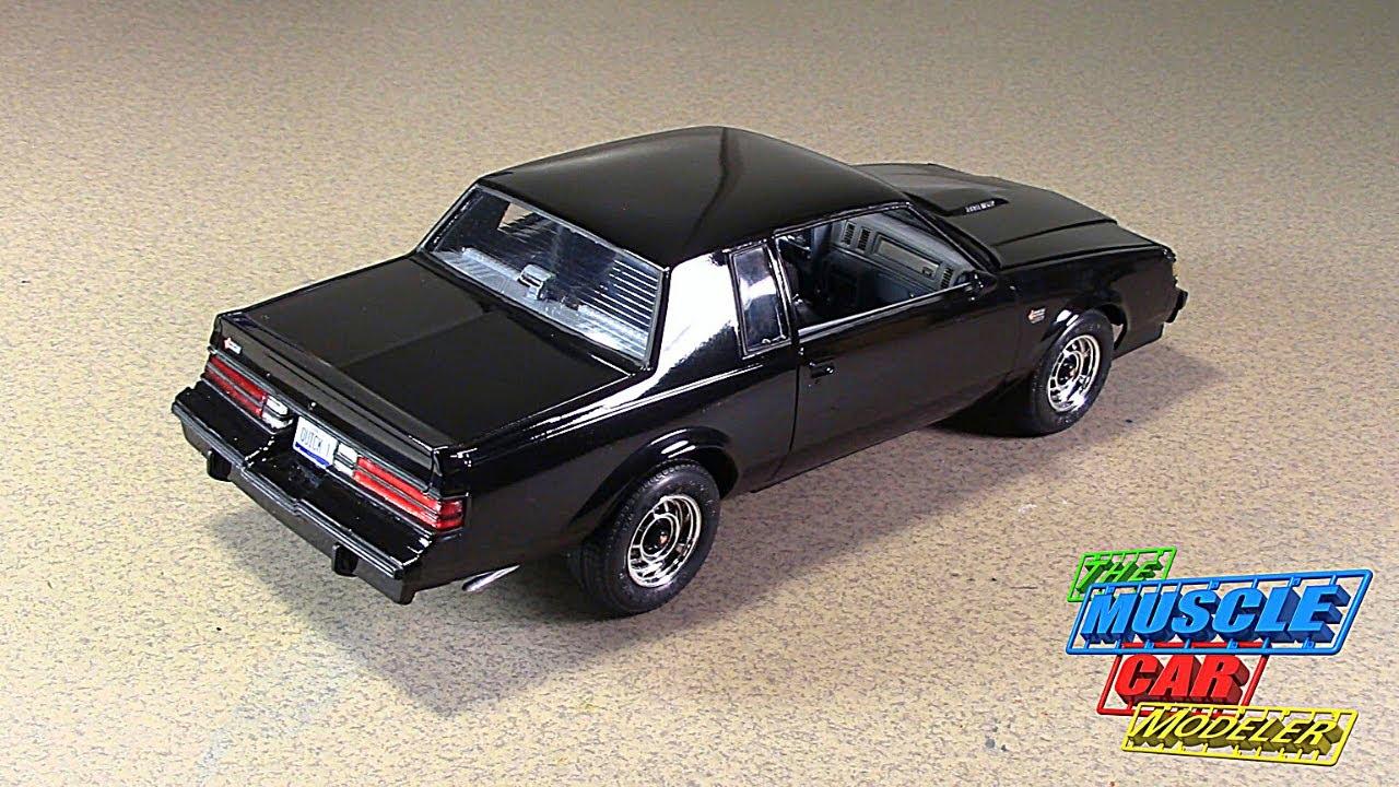 Revell Monogram 1987 Buick Grand National build