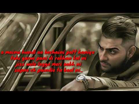 Manja New Song|| By Karan Aujla ||full Lyrics Song On Punjabi Live
