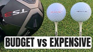 Titleist Pro V1X vs Titleist Velocity - Expensive Golf Balls vs Budget Golf Balls!