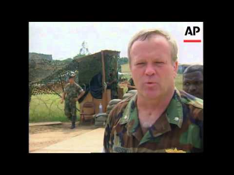 CONGO: US MILITARY UNITS STRENGTHEN GROUND FORCES