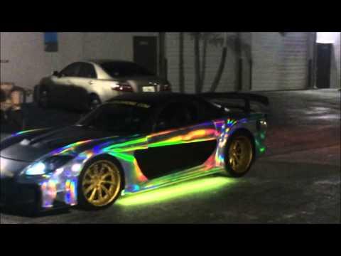 Vegas Fleet Builders Hologram Chrome Wrap Youtube