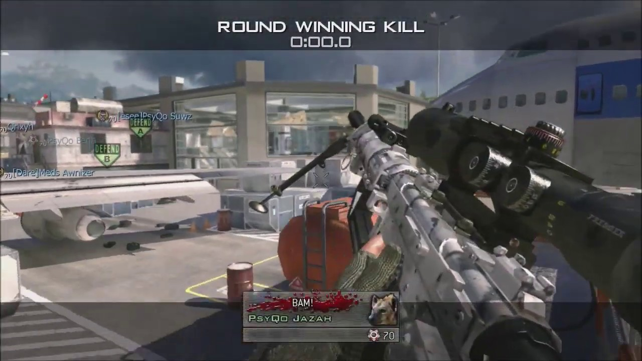 Top 10 Unsetup/Setup MW2 Shots