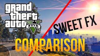 GTA V PC | SweetFX (w/K-Putt'e preset) | Comparison