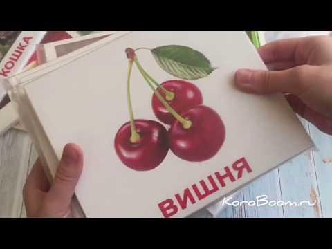 Вундеркинд с пеленок МегаЧемодан Набор обучающих карточек