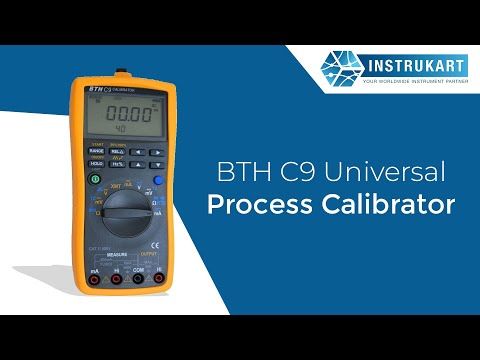 BTH C9 Universal Process Calibrator Demo