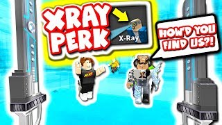 XRAY PERK TROLLING GONE REALLY WRONG.. (Roblox Murder Mystery 2)