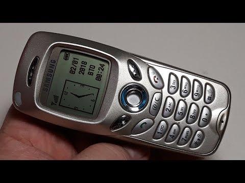 Samsung SGH-N500 ретро телефон из прошлого