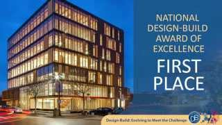 2015 CDBI Award of Excellence 1st Place: Wood Innovation and Design Centre