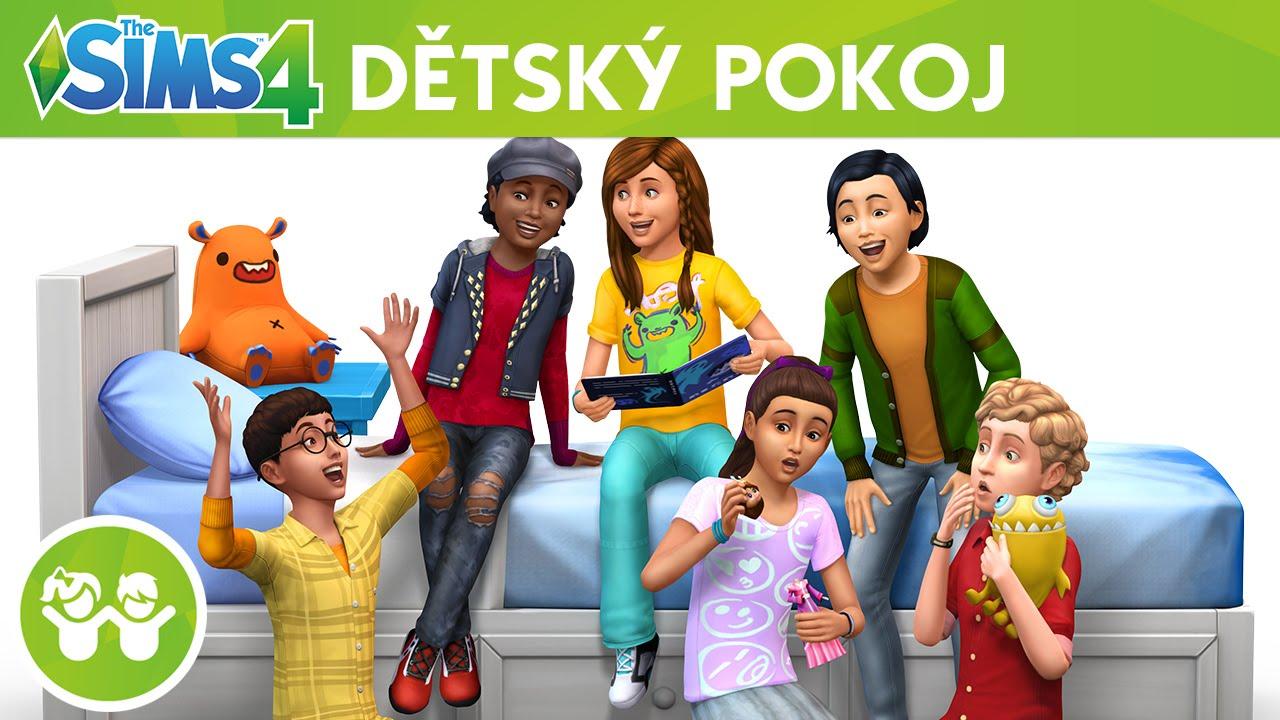 Výsledek obrázku pro the sims 4 dětský pokoj
