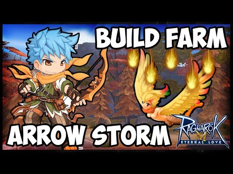 BUILD ARROW STORM PARA FARM É BOA? - Ragnarok Mobile Eternal Love F2P 079