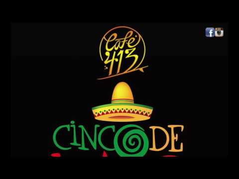 Celebrating Cinco de Mayo 2016 at Café 413 in Rincón, Puerto Rico. Featuring the Superstereos.