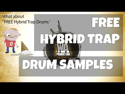 FREE EDM Hybrid Trap Drums [Fat, Punchy Jack Ü / Yellow Claw / UKF inspired Drum Samples & 808s]