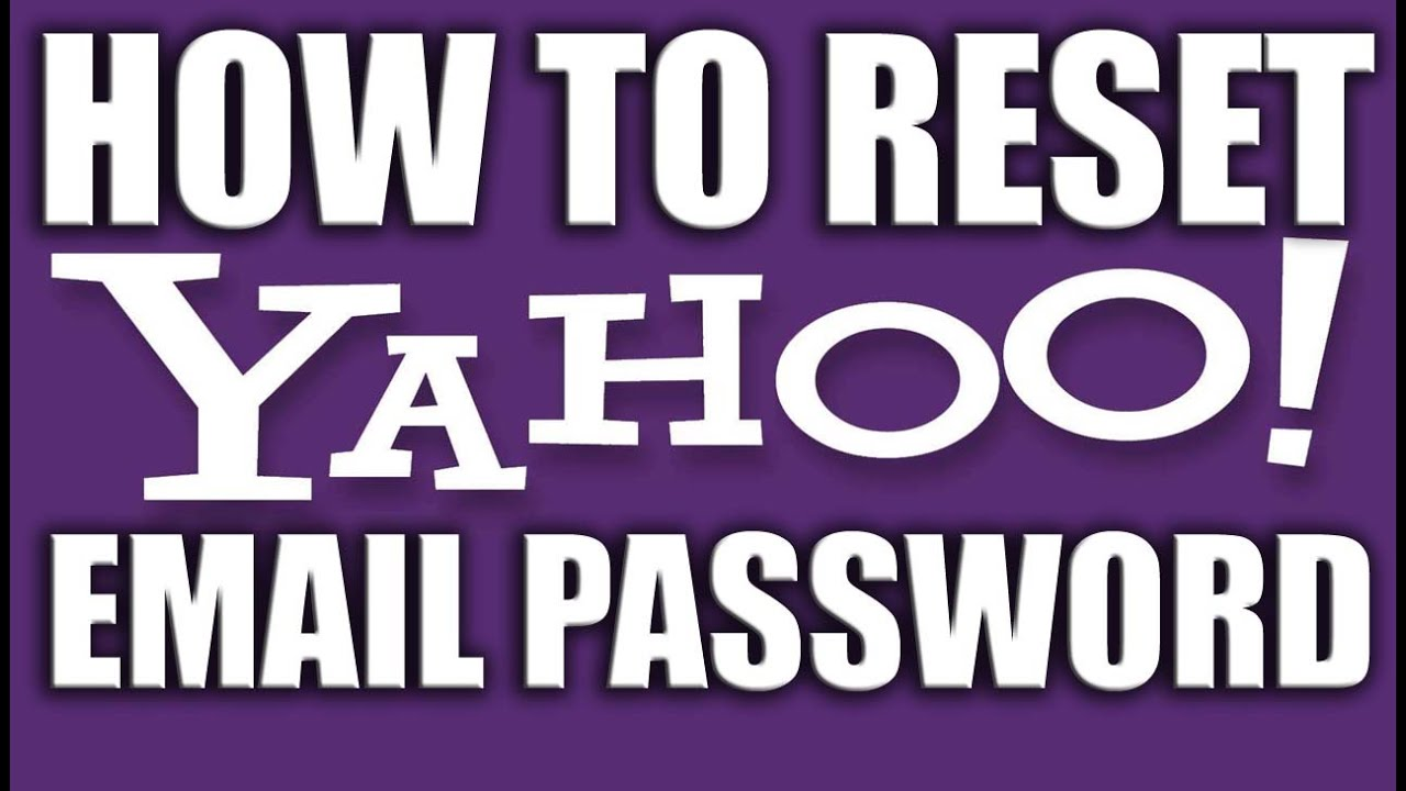 How To Reset Yahoo Email Password 2016  Yahoo Email Services