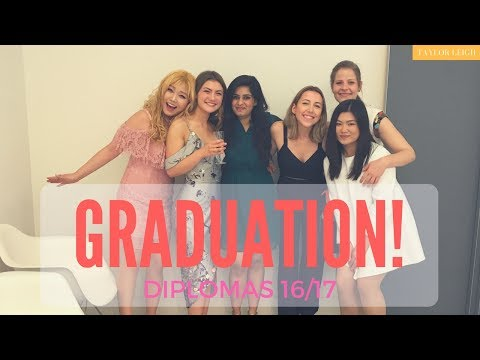 GRADUATIONS!! // Conde Nast College