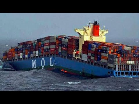 How it looks inside Container Ship | On board video tour