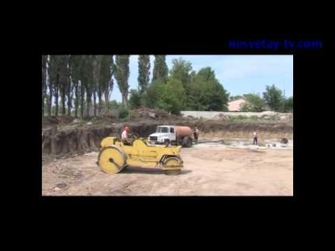 Новые резервуары для воды в городе Новошахтинске